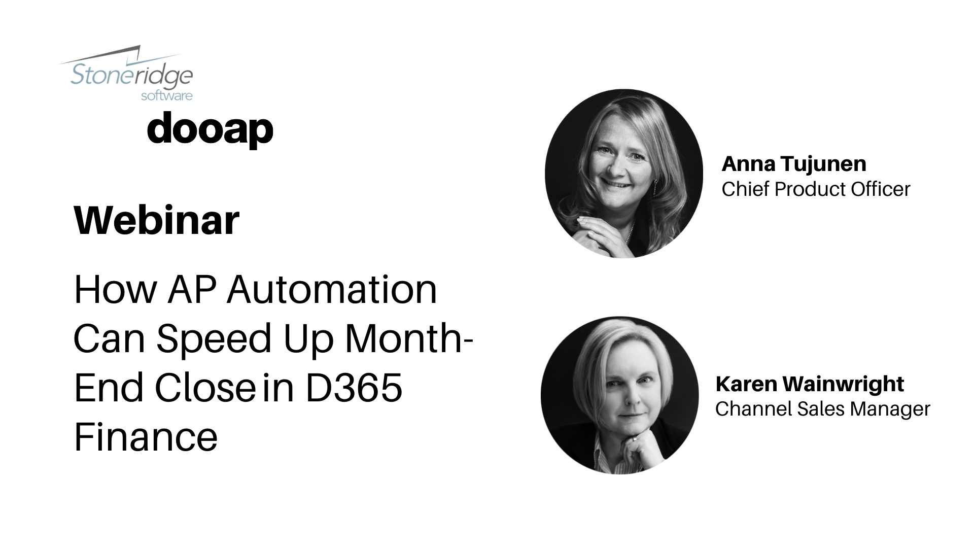 Webinar: How AP automation can speed up month-end closein D365 Finance