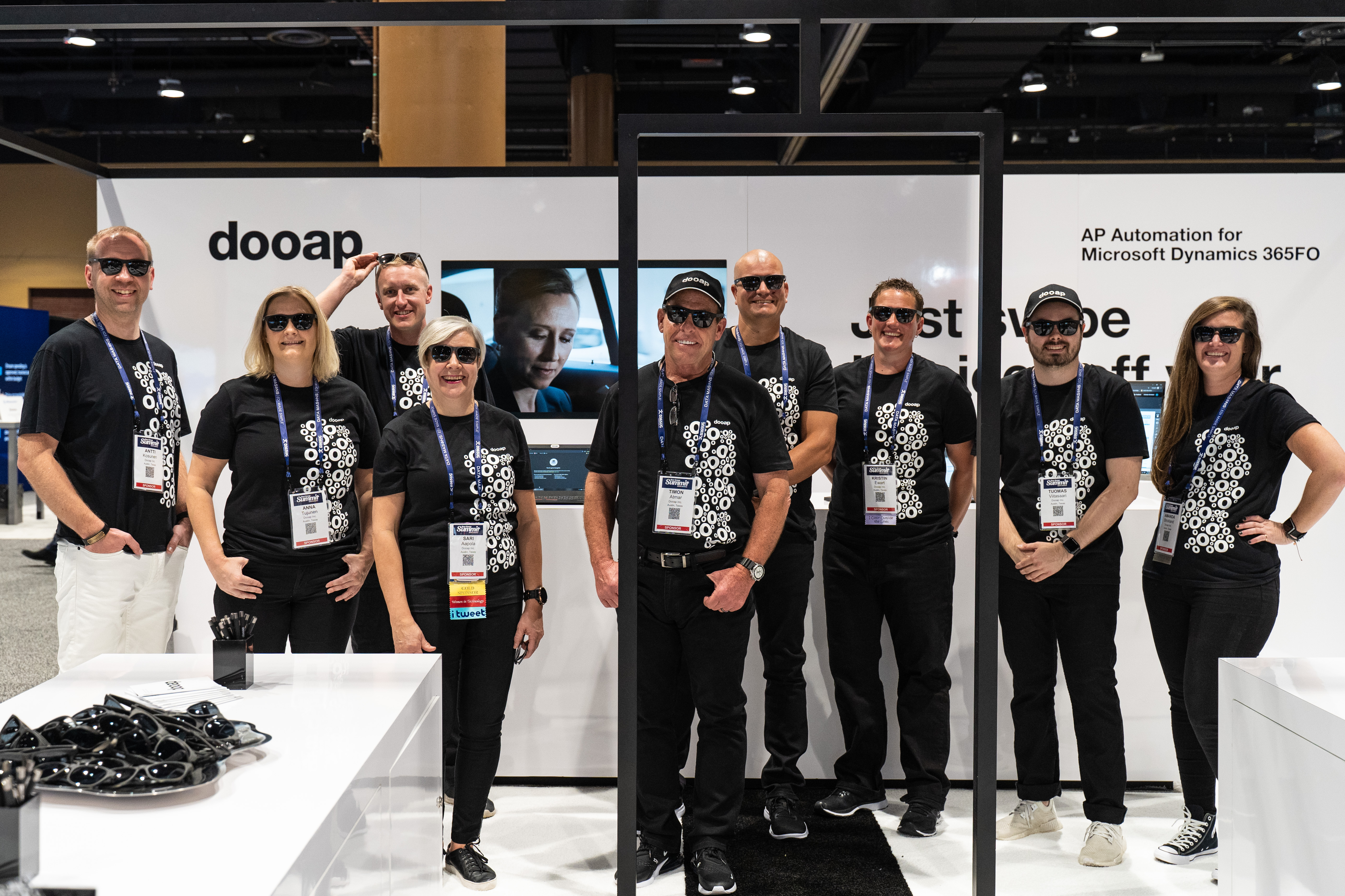 Team Dooap at the User Group Summit 2019